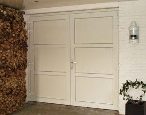 Openslaande garagedeuren -Kommerling